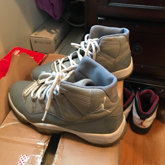 a5d1eb1876f Jordan Other - Used Jordan 11 cool grey